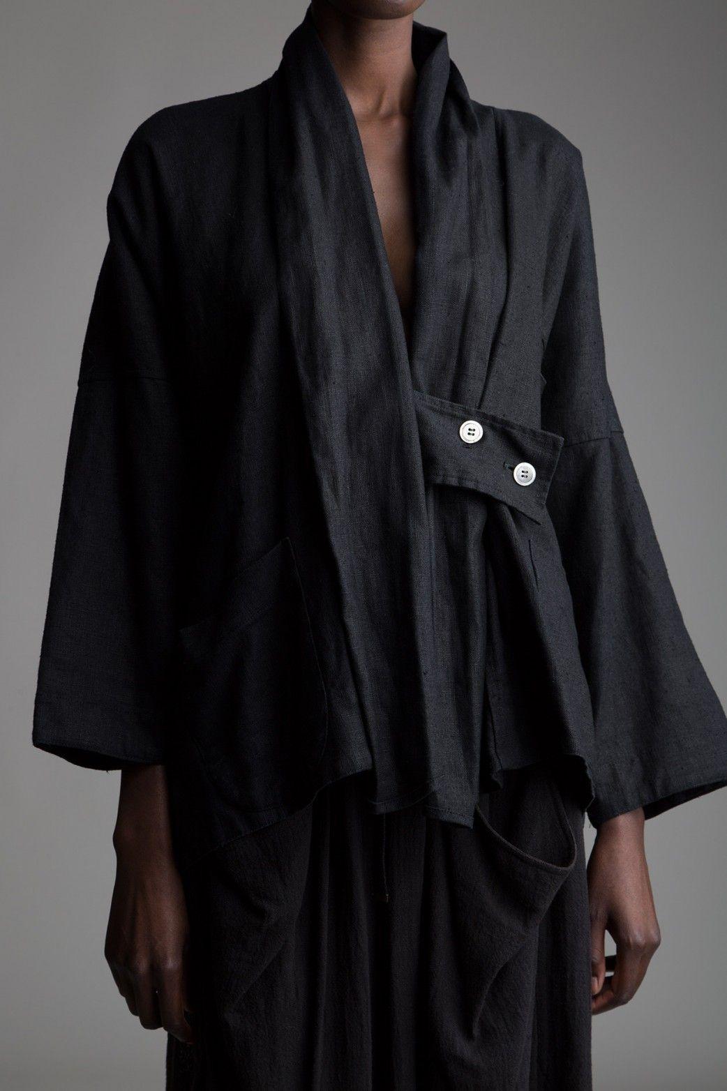 179ce9078ba5 Vintage Y's Yohji Yamamoto Linen Jacket Designer Vintage Clothing Minimal  Fashion