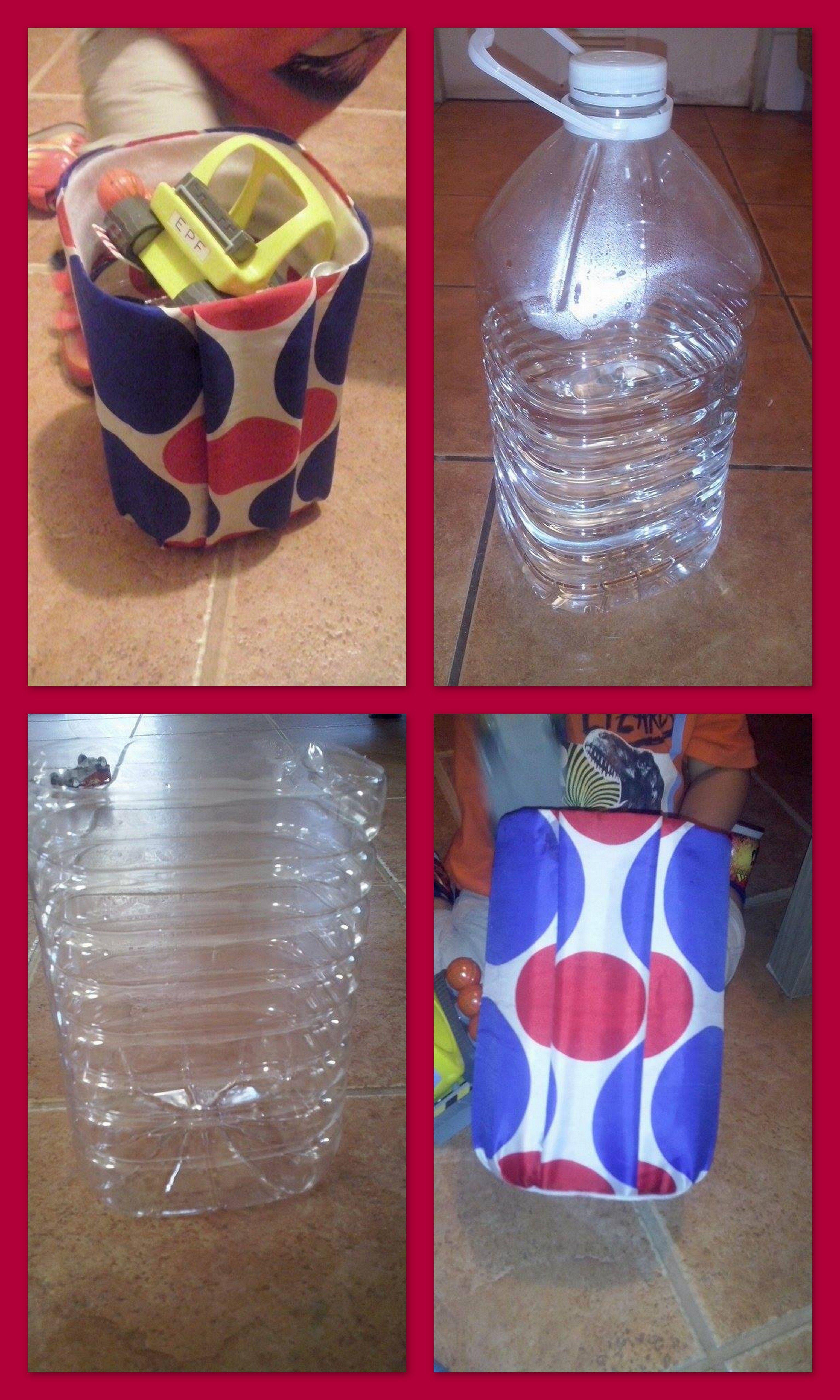 Reciclando Botellas De Plastico De 5 Litros Y Convertirlas En Un Guarda Juguetes Plastikflaschen Upcycling Basteln