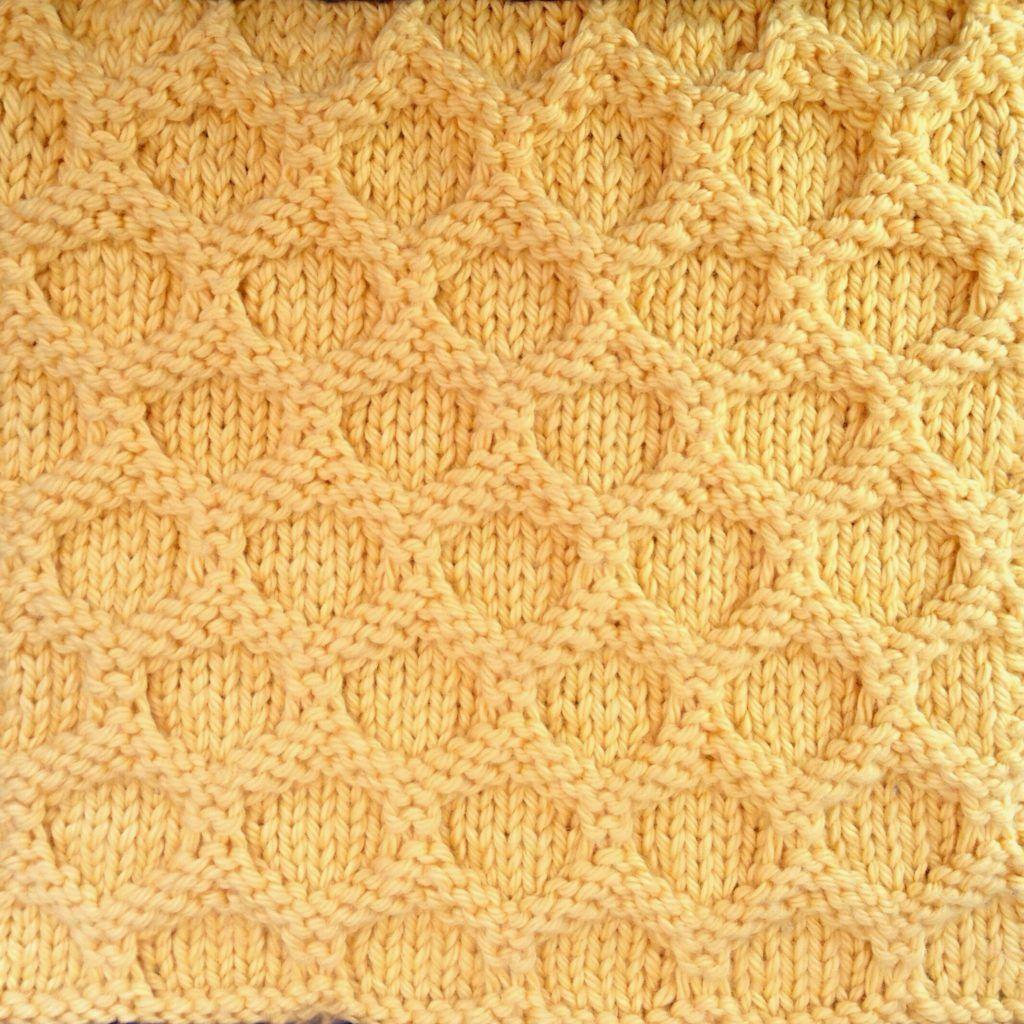 Faux Honeycomb Stitch A Good Yarn Honeycomb Stitch Knitting
