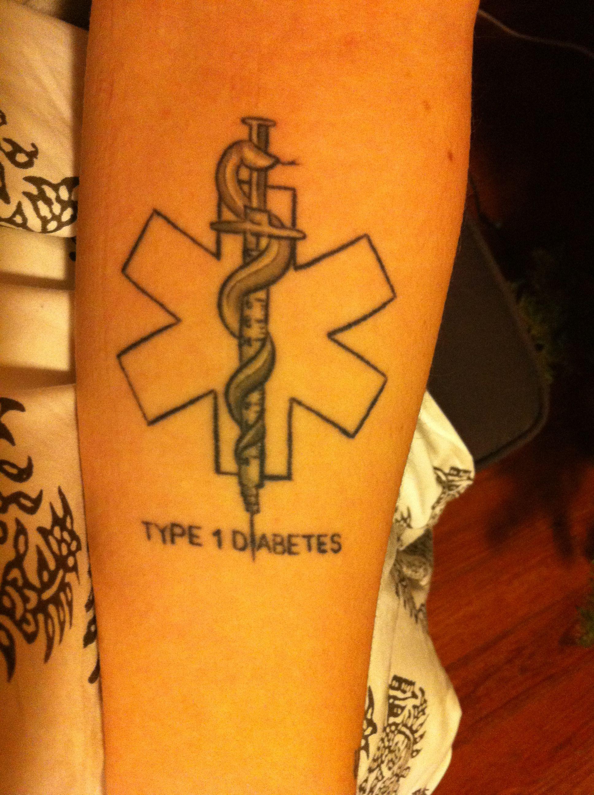 Health alert tatoos on the medical alert symbol i love for Medical tattoo designs