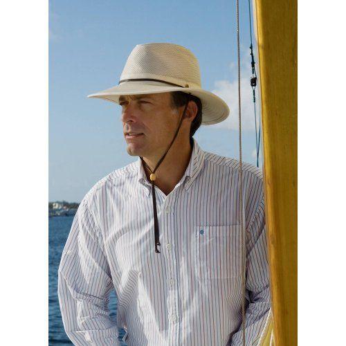 Coolibar UPF 50+ Men s Crushable Ventilated Canvas Sun Hat  45.00 ... 981d006df8b