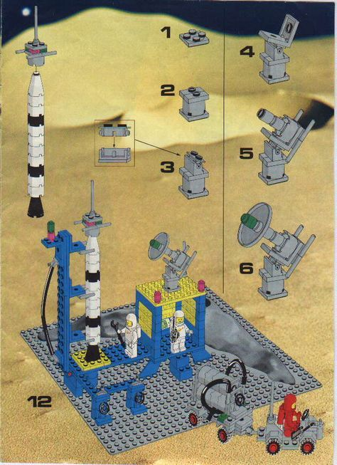 Old Lego Instructions For Free At Letsbuilditagain Lego