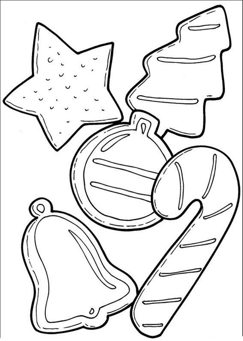 Free Christmas Cookies Coloring Page Cool Coloring Pages Christmas Coloring Sheets Candy Coloring Pages