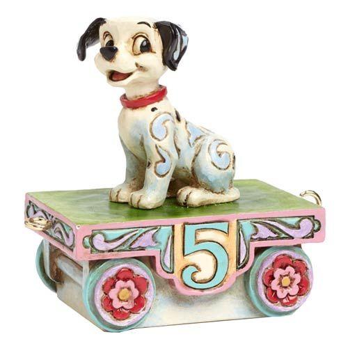 Disney Traditions Jim Shore Ornament Mini Lucky 101 Dalmations Figurine Figure