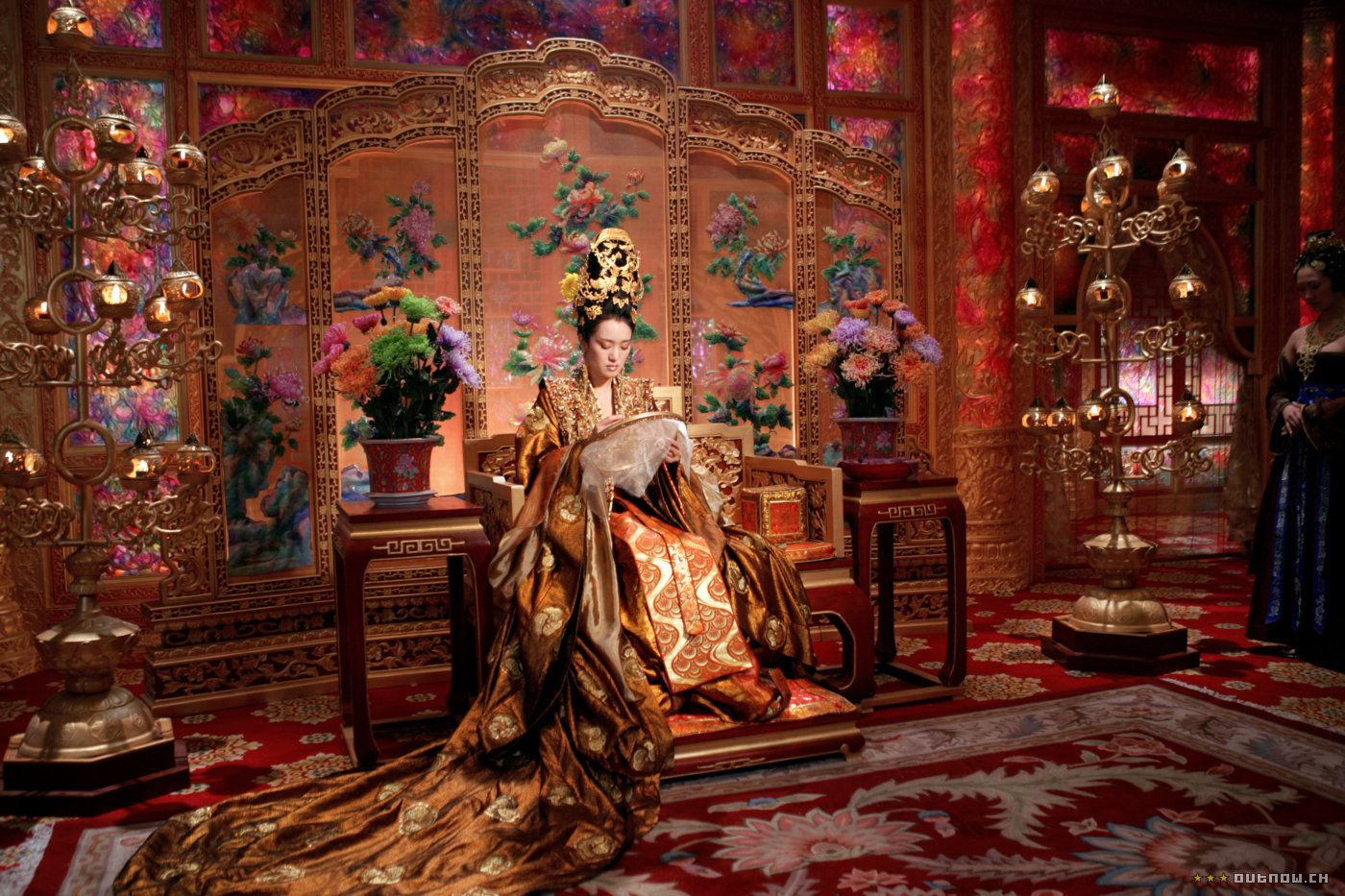 Curse of the Golden Flower / costume designer Yee Chung