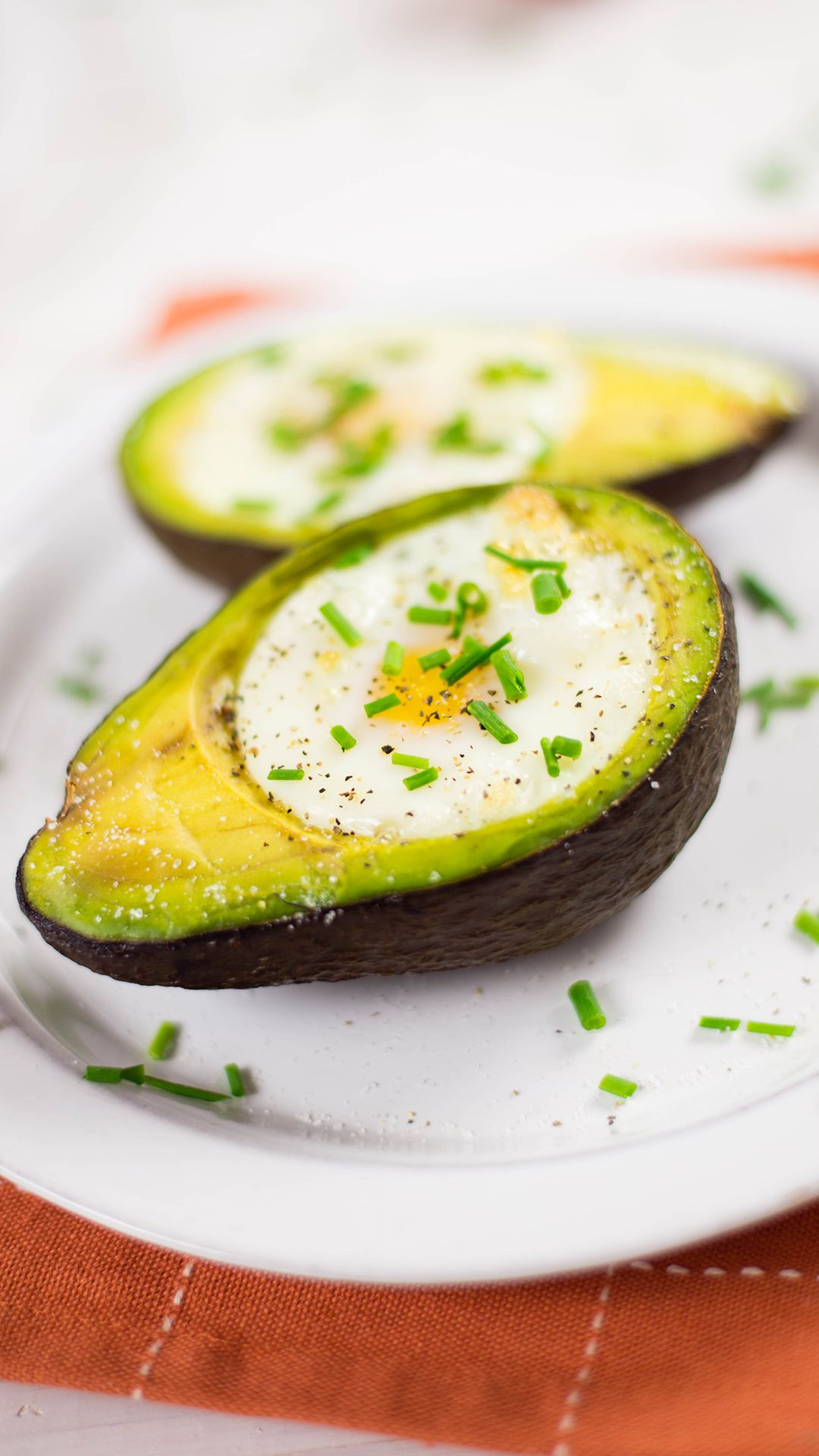 Photo of Baked Eggs In Avocados
