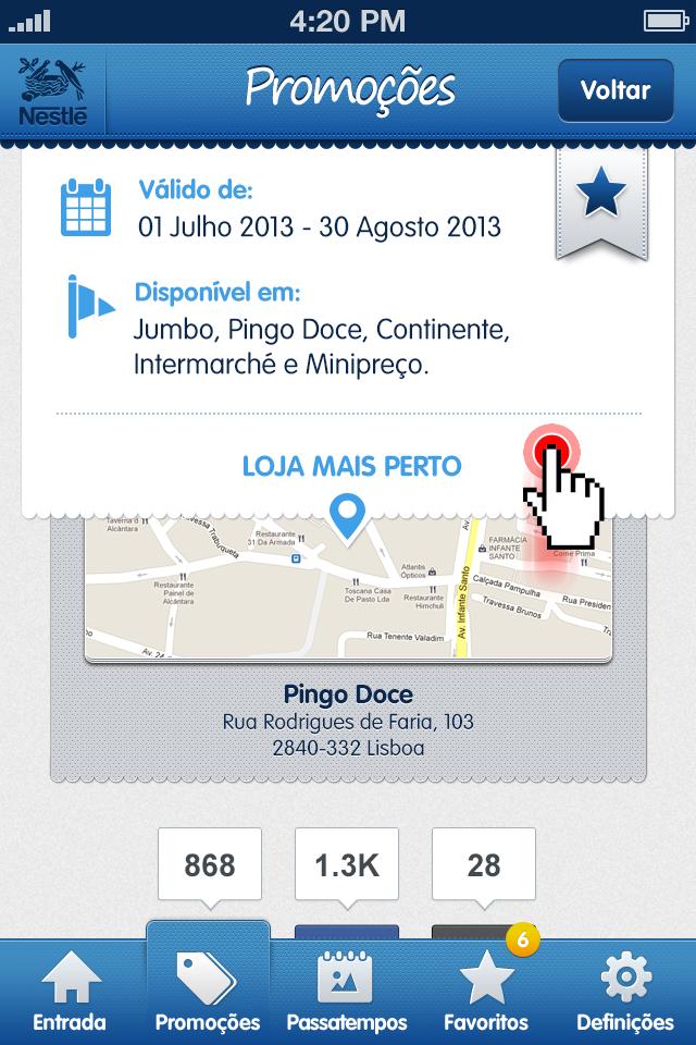 2013-05 Nestle App Mobile