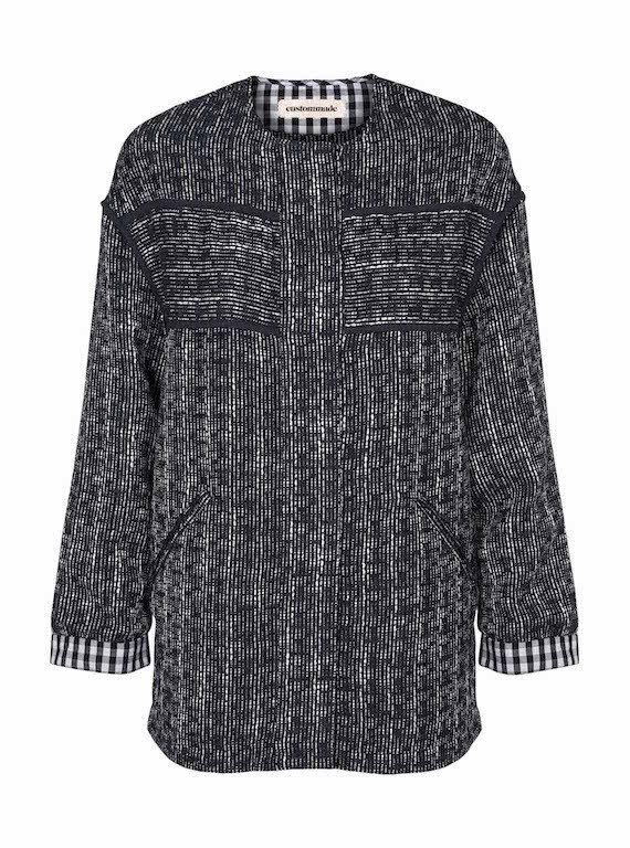 Custommade Noa Collarless Jacket at atticwomenswear.com