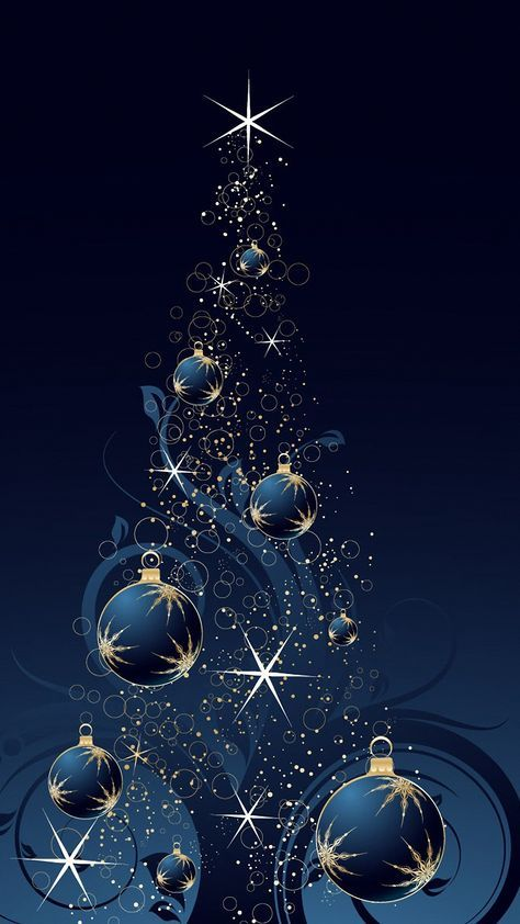 Pin By S Reyes On G Christmas Tree Wallpaper Blue Christmas Tree Christmas Wallpaper Arbol de navidad azul wallpaper