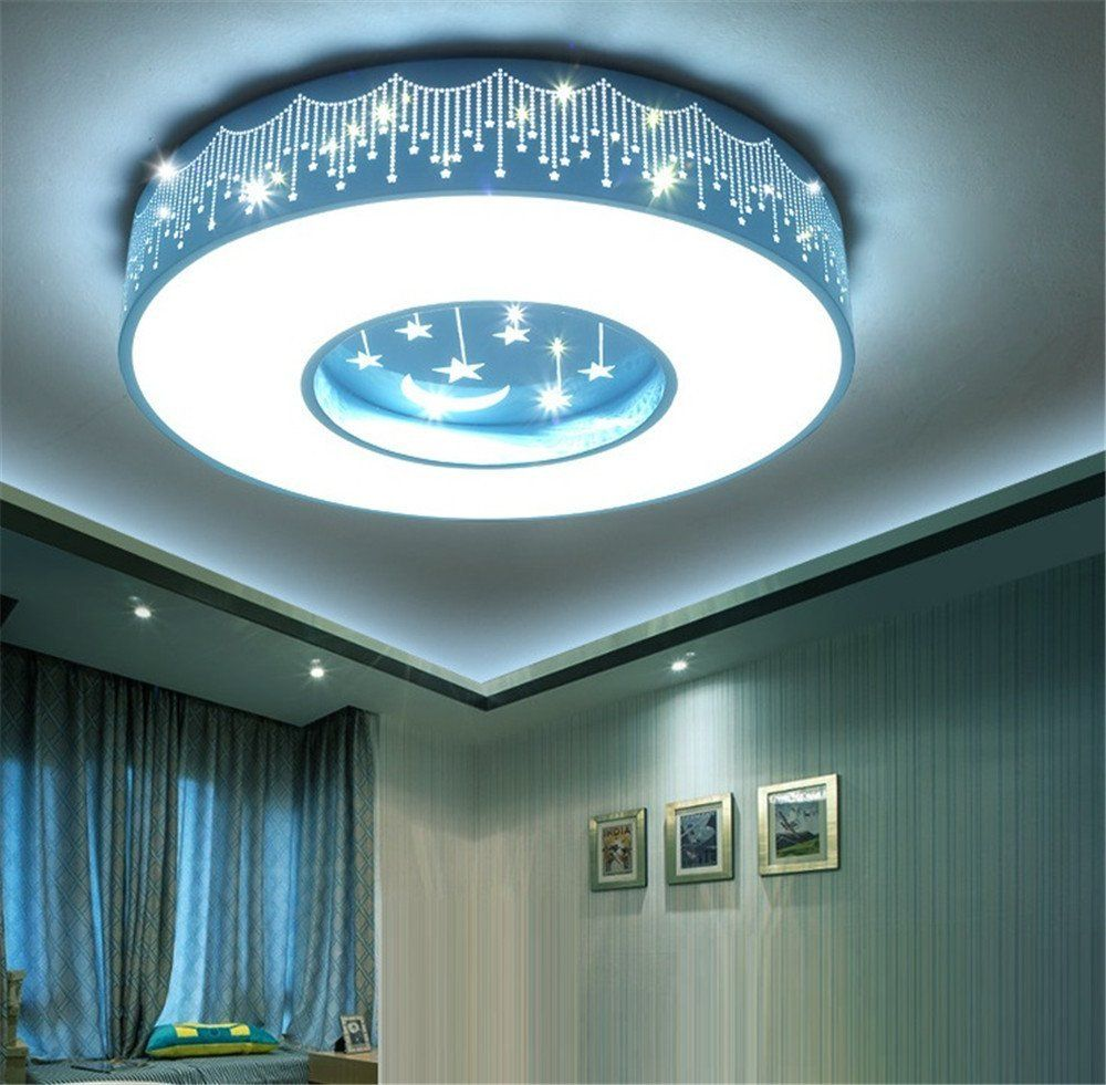 Chlight 40cm Children Room Ceiling Lights Blue Star Moon Decor