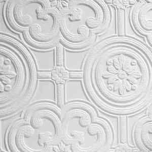 Angalypta Egon White Paintable Wallpaper Highly Embossed Tile Effect Design Ebay Anaglypta Wallpaper Paintable Wallpaper Embossed Wallpaper
