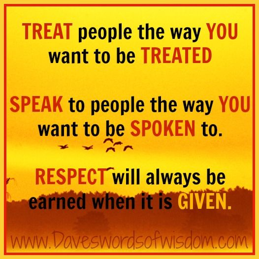 Treating Others How You Want To Be Treated Attitude Of Gratitude
