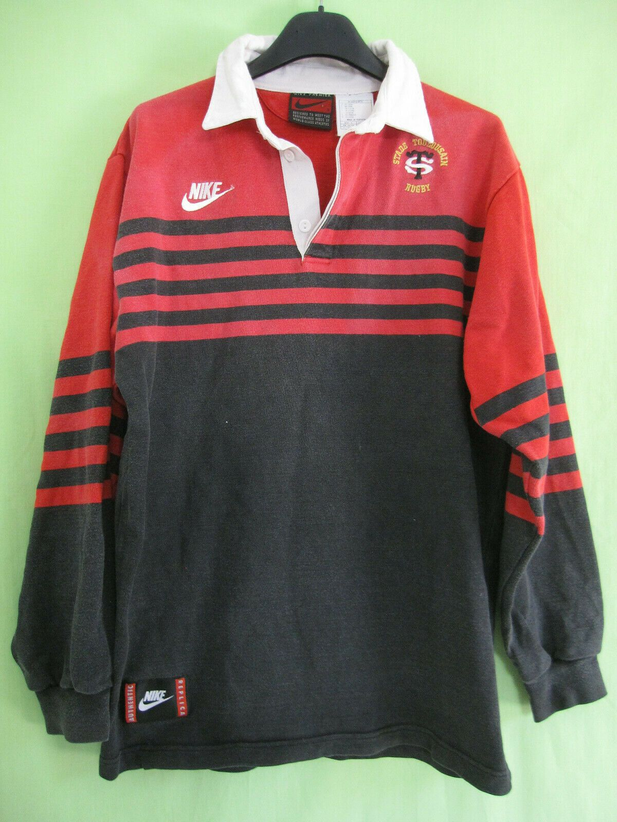 Picture 1 Of 6 Vintage Nike Rugby Vintage Rugby Jersey