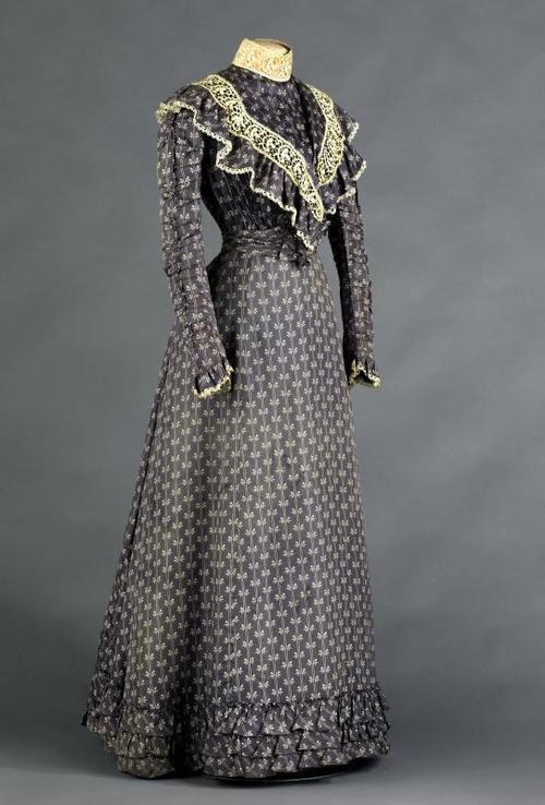7de316fe3e959 Day dress ca. 1897 From the Musée Galliera | ~1890s Fashion~ in 2019 ...