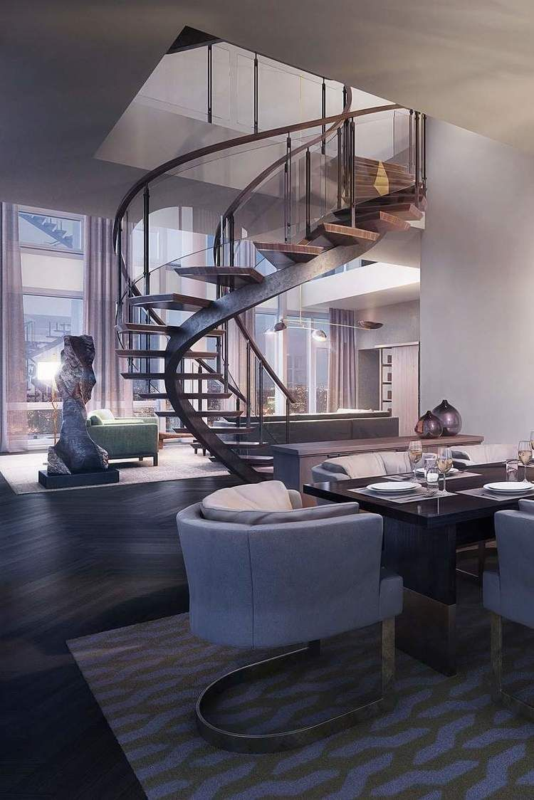 Amazing New York Penthouse   Penthouses, Interiors and House
