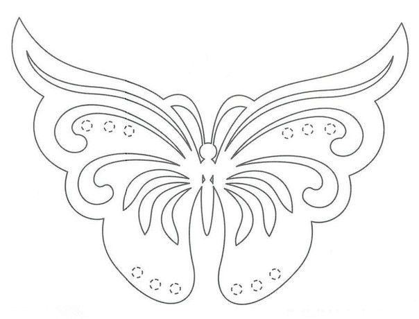 Creative Ideas - Diy Pretty Kirigami Butterfly Postcard From