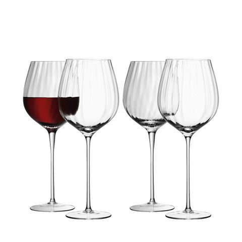 Godinger Aerating Wine Glasses Stemless