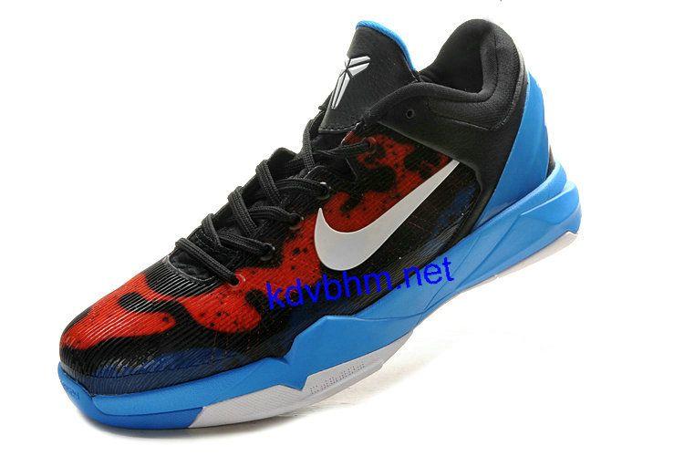 buy online a23cf 0fdf7 Kobe VII(7) Poison Dart Frog Lakers Red Blue 488371 403