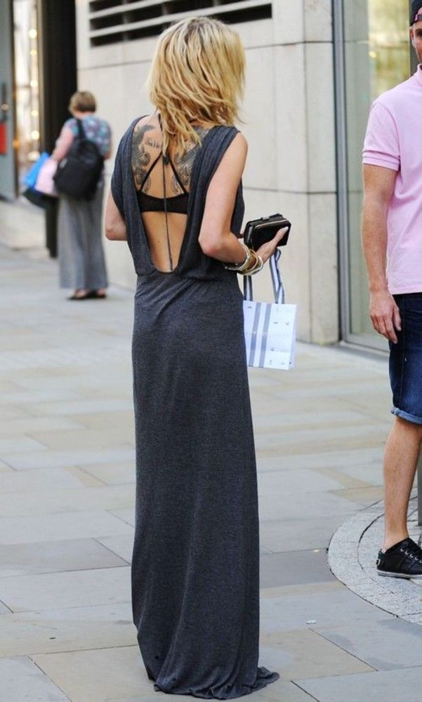 Backless Beauty: Open Back Everything