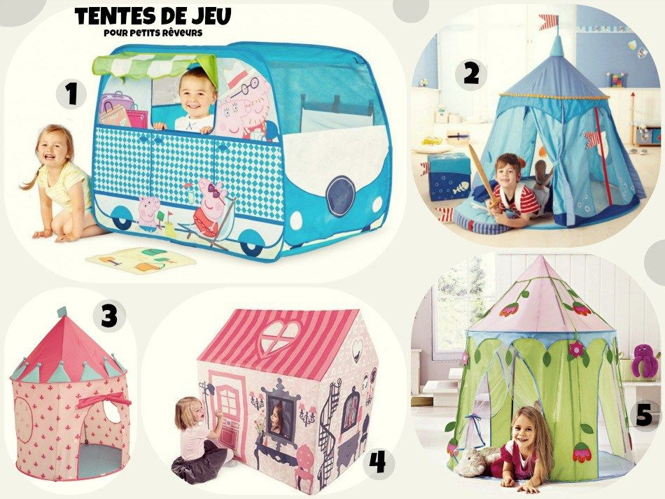 tente de jeu pop up pour bebe et enfant fille gar on. Black Bedroom Furniture Sets. Home Design Ideas
