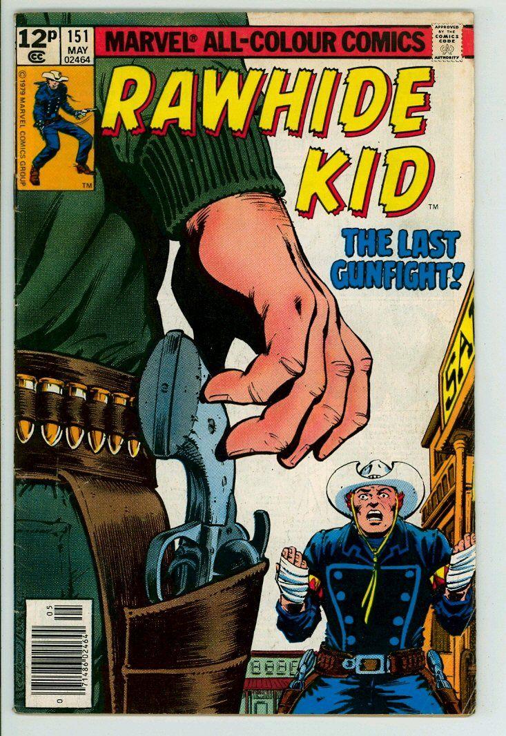 Rawhide Kid 151 (VG 4.0) pence