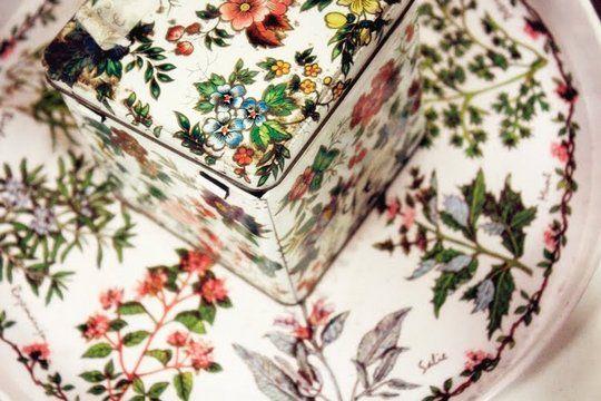 flower plate + flower box