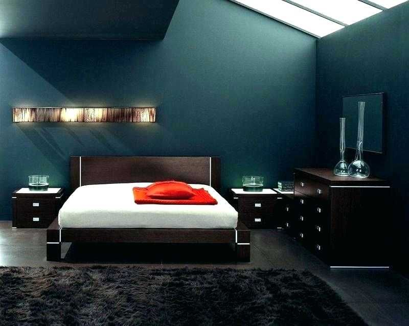 Lovely Mens Bedroom Paint Colors Images Guy Room Paint Colors Masculine Bedroom Ideas With Awesome Wall Decor Pic With Images Bedroom Design Bachelor Bedroom Mens Bedroom