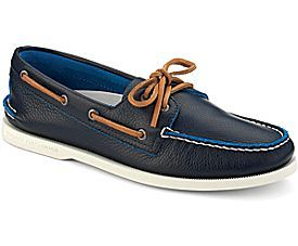 Sperry Top-Sider Authentic Original Two-Tone 2-Eye Boat Shoe | Navy