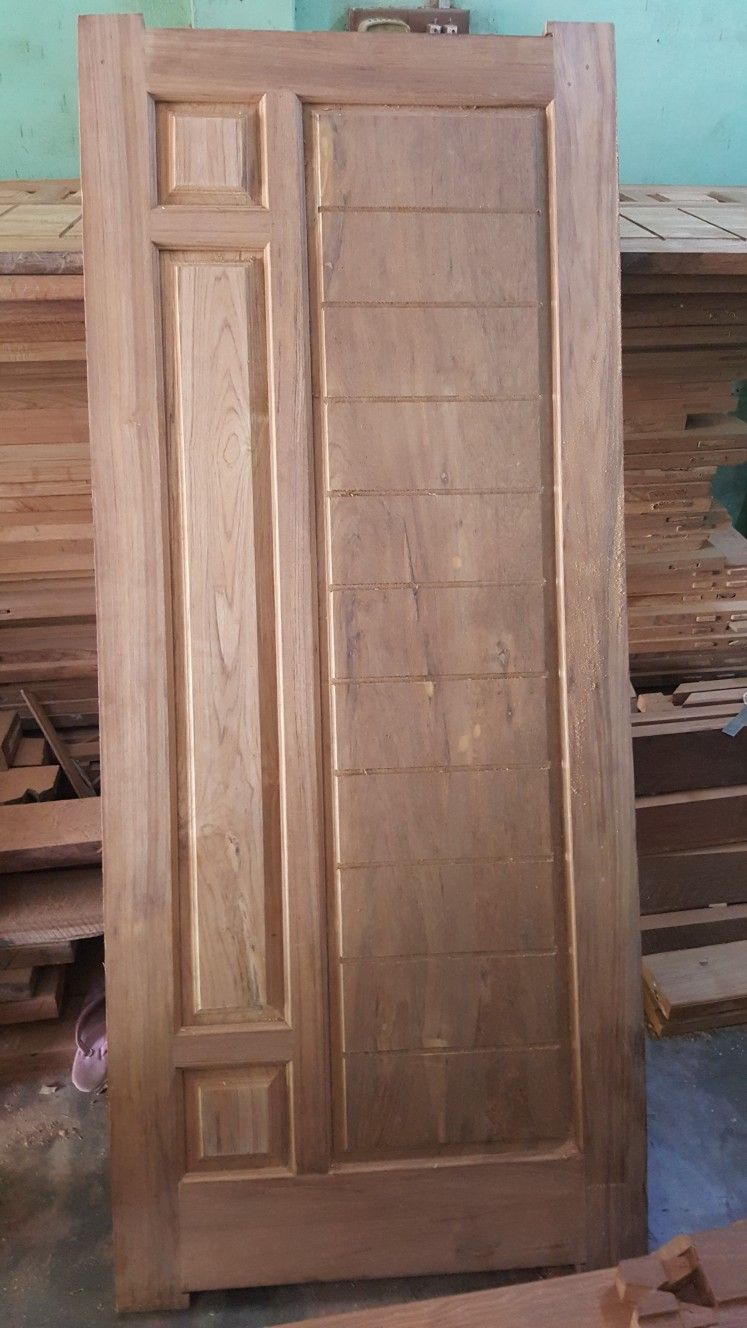 New panel door | GL Doors in 2019 | Door design, Wooden doors ... on