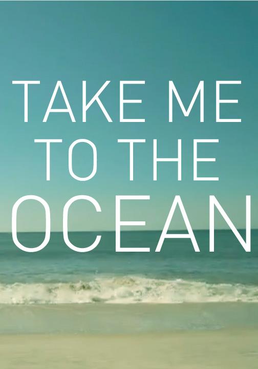 ¡Llévame al mar!