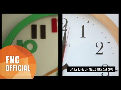 FNC NEOZ SCHOOL - DAILY LIFE OF NEOZ (네오즈의 하루) - YouTube