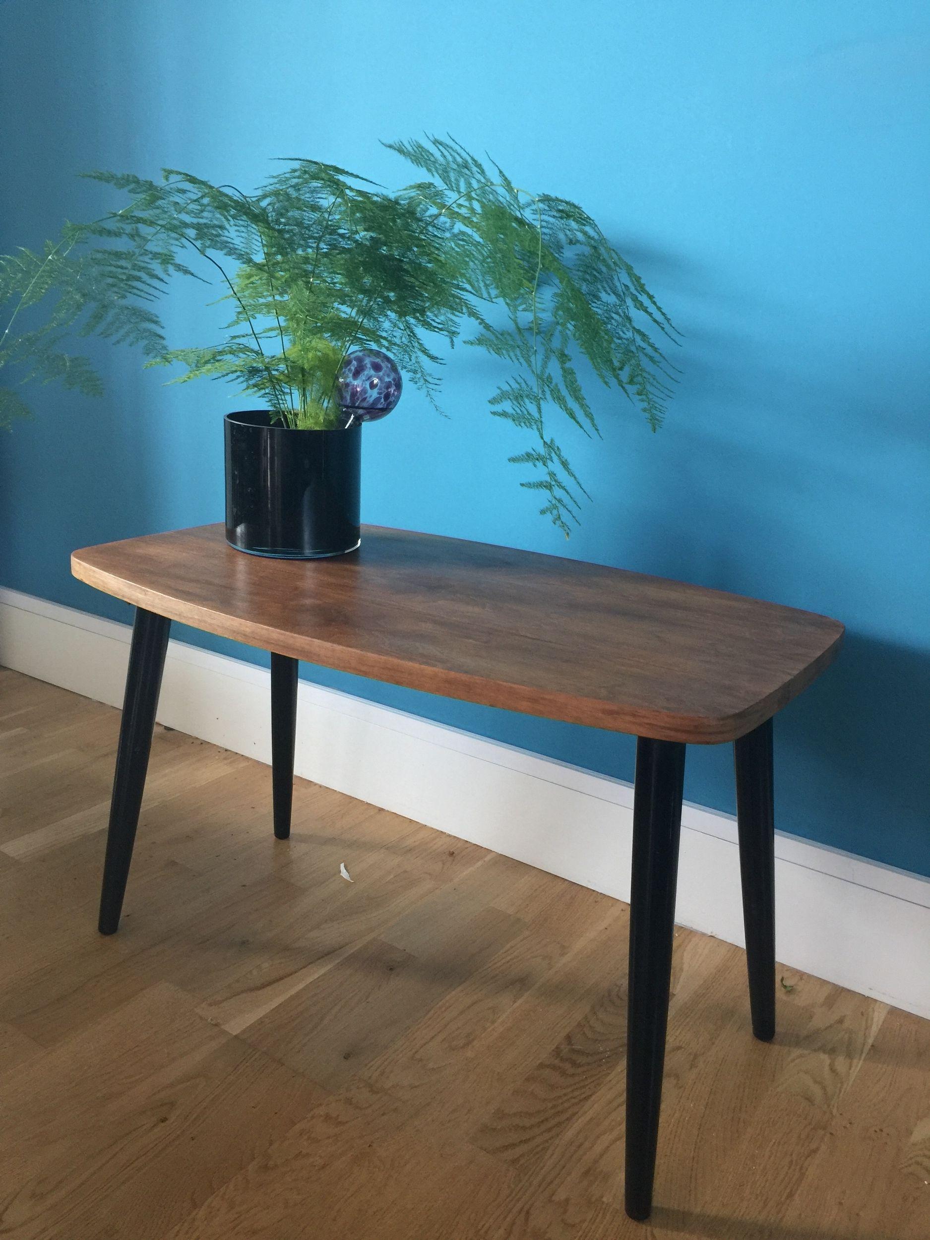 mid century solid teak retro vintage coffee table a 95 00