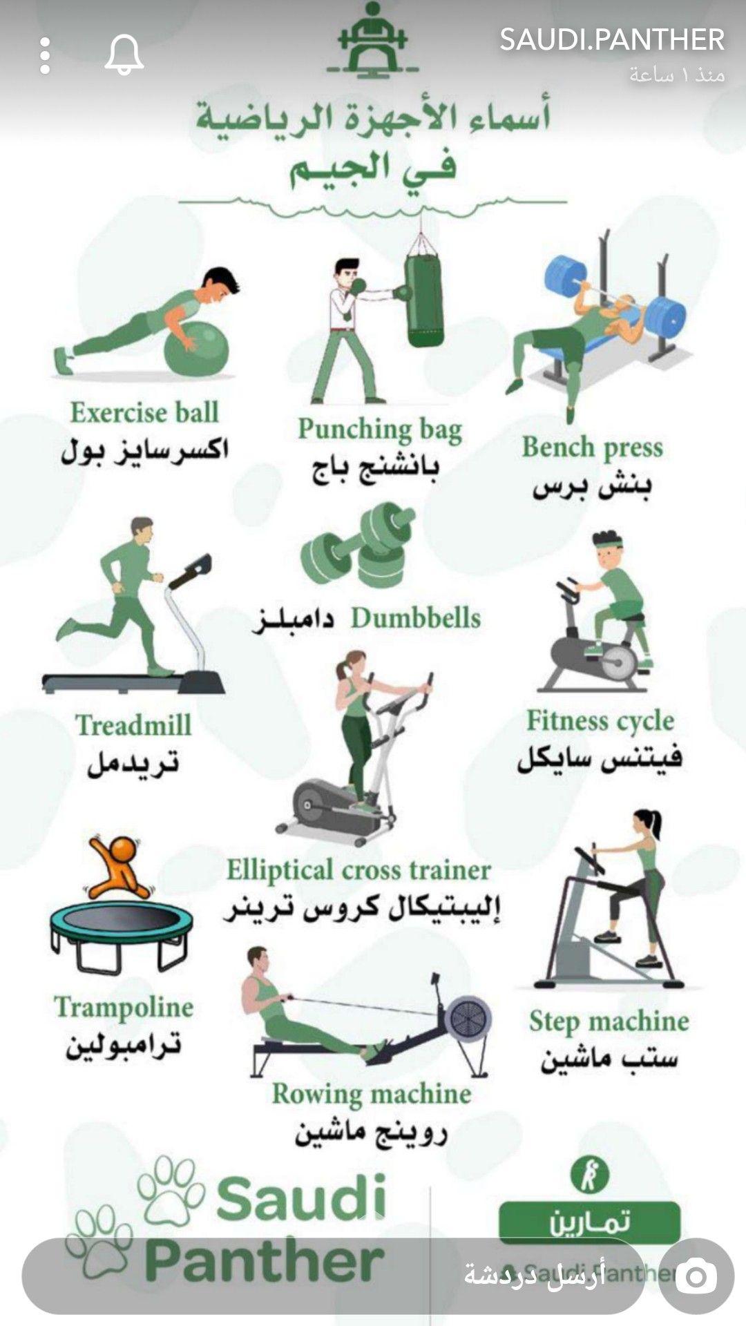 أسماء الاجهزه الرياضيه Gym Workout For Beginners Fitness Workout For Women Gym Workout Videos