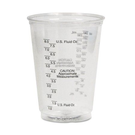7a638bc2089b Solo TP10DGM Plastic Medical & Dental Cups, Graduated, 10 Oz, Clear ...