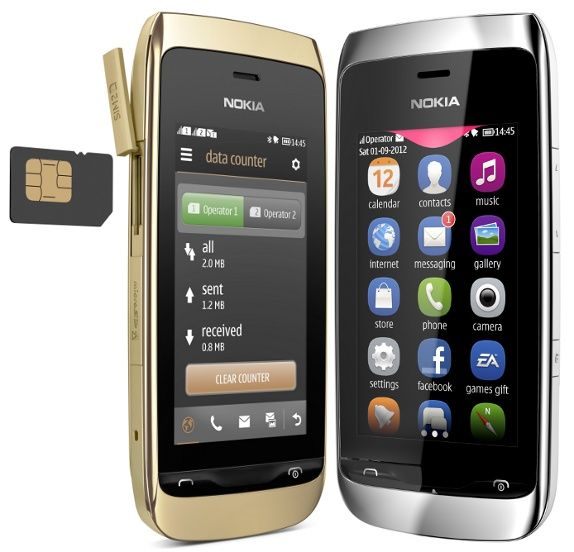 Nokia Asha 308 And 309 Touch Screen Phones Announced