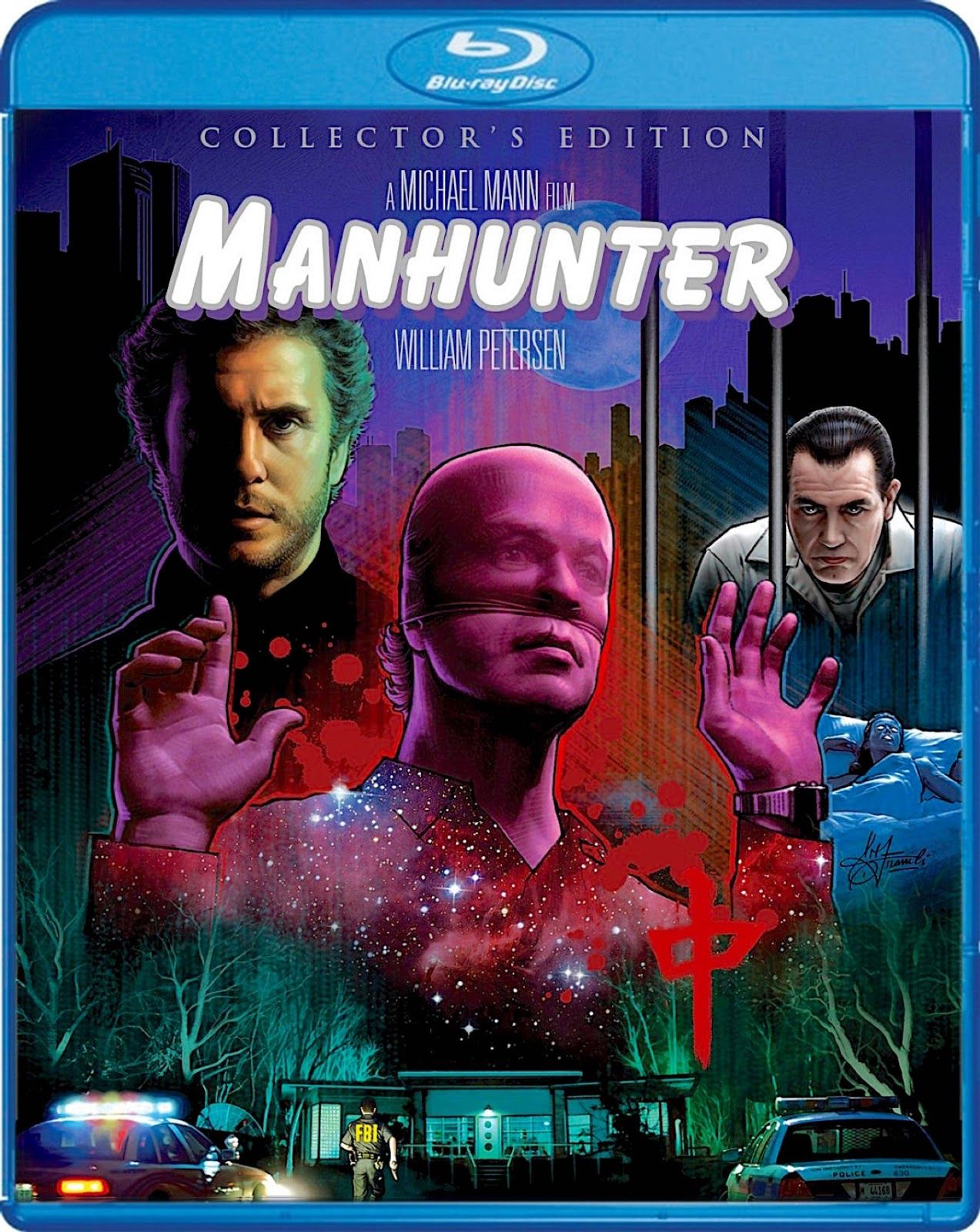 MANHUNTER COLLECTOR'S EDITION SCREAM FACTORY BLURAY Blu