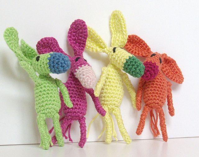 Easy Amigurumi Pdf : Mini crochet donkey free amigurumi pattern pdf version