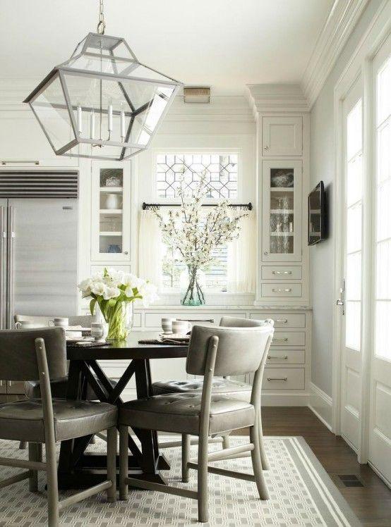 httpwwwdigsdigscom25 beautiful neutral dining room designs