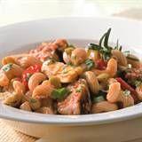 Tuna Pasta with Olives & Artichokes