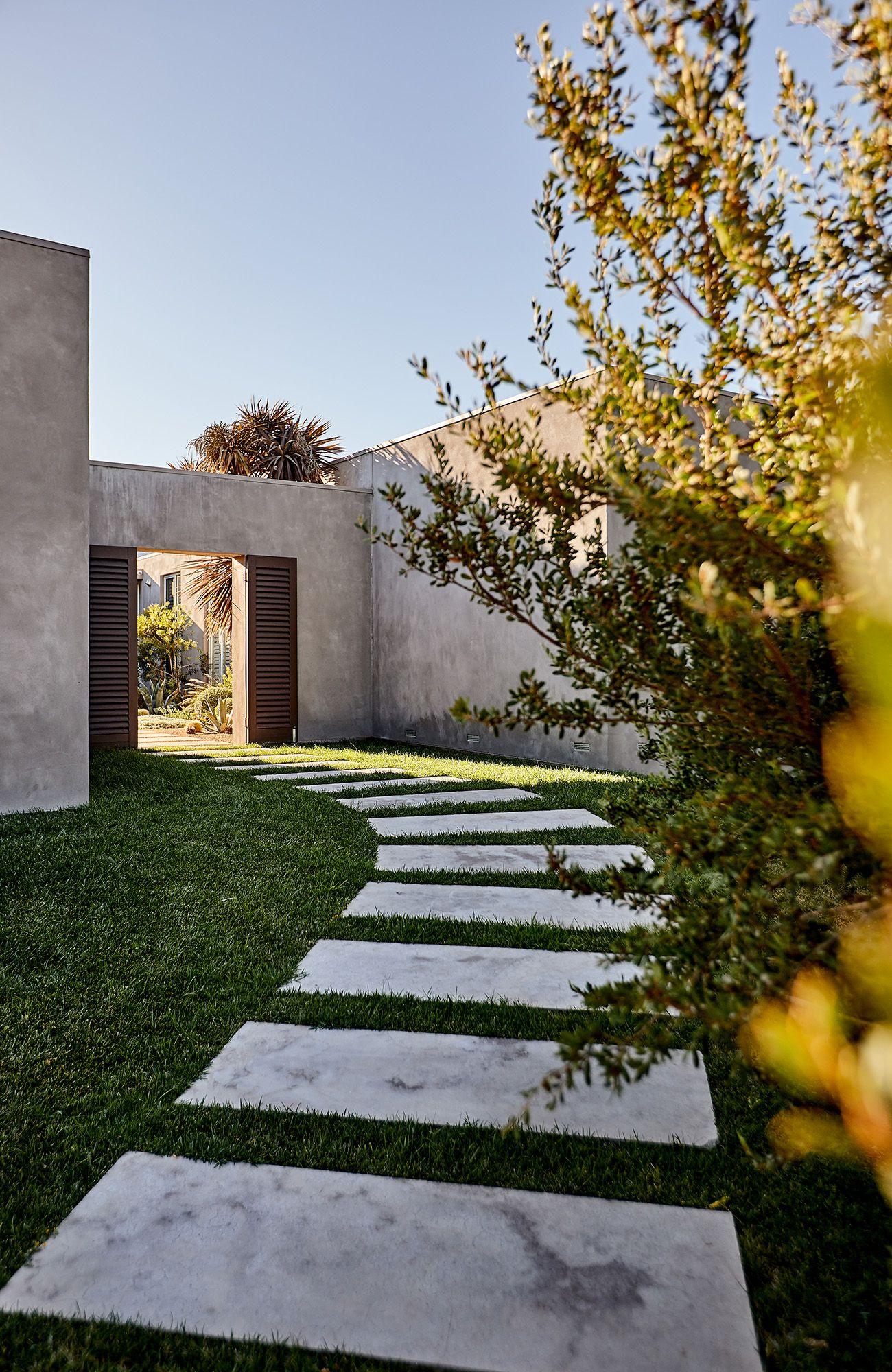 Photo of A Beach Home Garden Designed for the Coastal Conditions