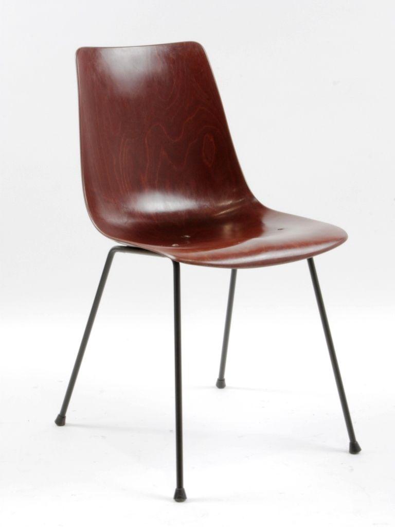 Galerie Alexandre Guillemain Artefact Design Pierre Paulin Chaise Cm131 Edition Thonet 1954 Chaise Vintage Chaise Chaises Antiques
