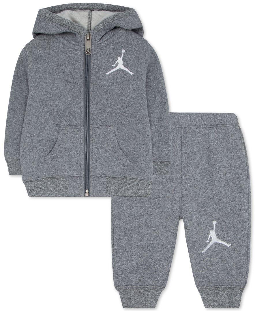 4951a7a368338a Jordan Baby Boys  Hoodie   Pants Set