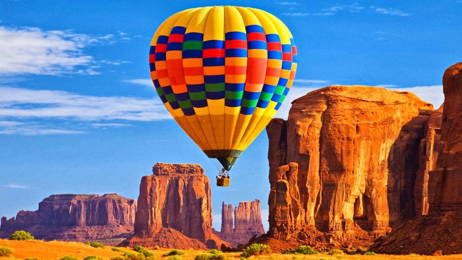 Riding A Hot Air Balloon in Grand Canyon Air balloon