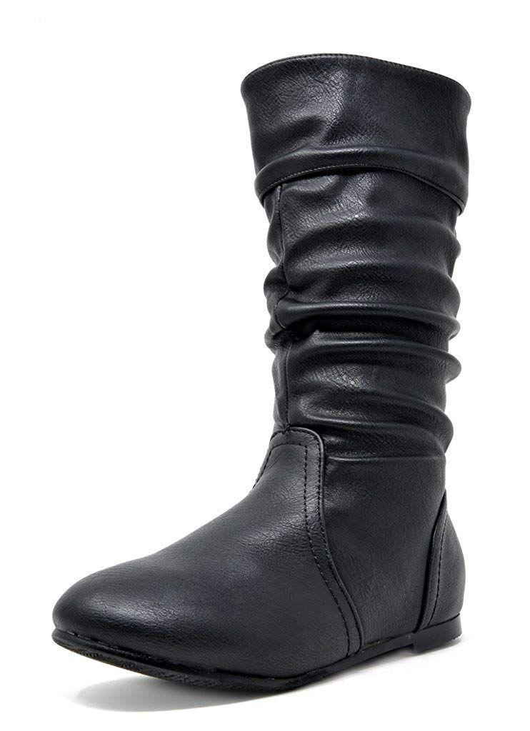 Lucky Top Vanida 1k Little Girls Riding Zip up Boots