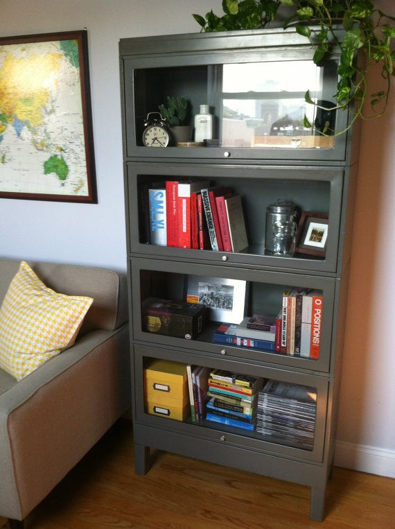 Pin By Amie Wagener On Furniture Redo Metal Bookcase Bookcase