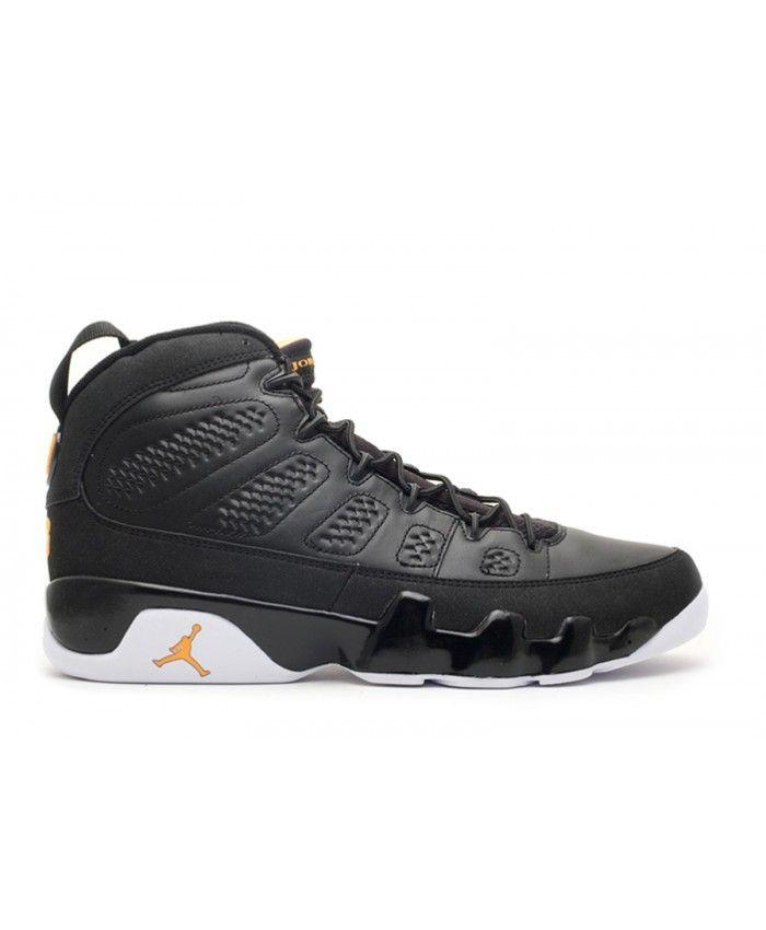 0ab821448182e8 Air Jordan 9 Retro Black Citrus White 302370 004