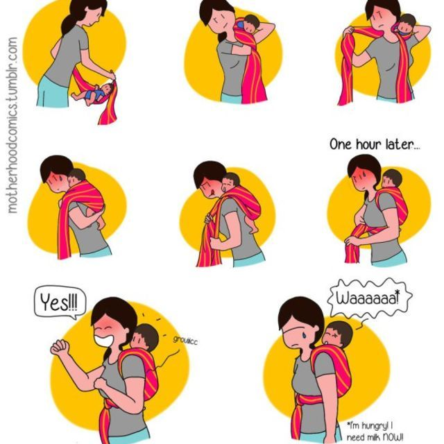 These Hilarious Comics Perfectly Sum Up Motherhood Comic - Illustrator perfectly sums up what its like to be a woman in funny comics