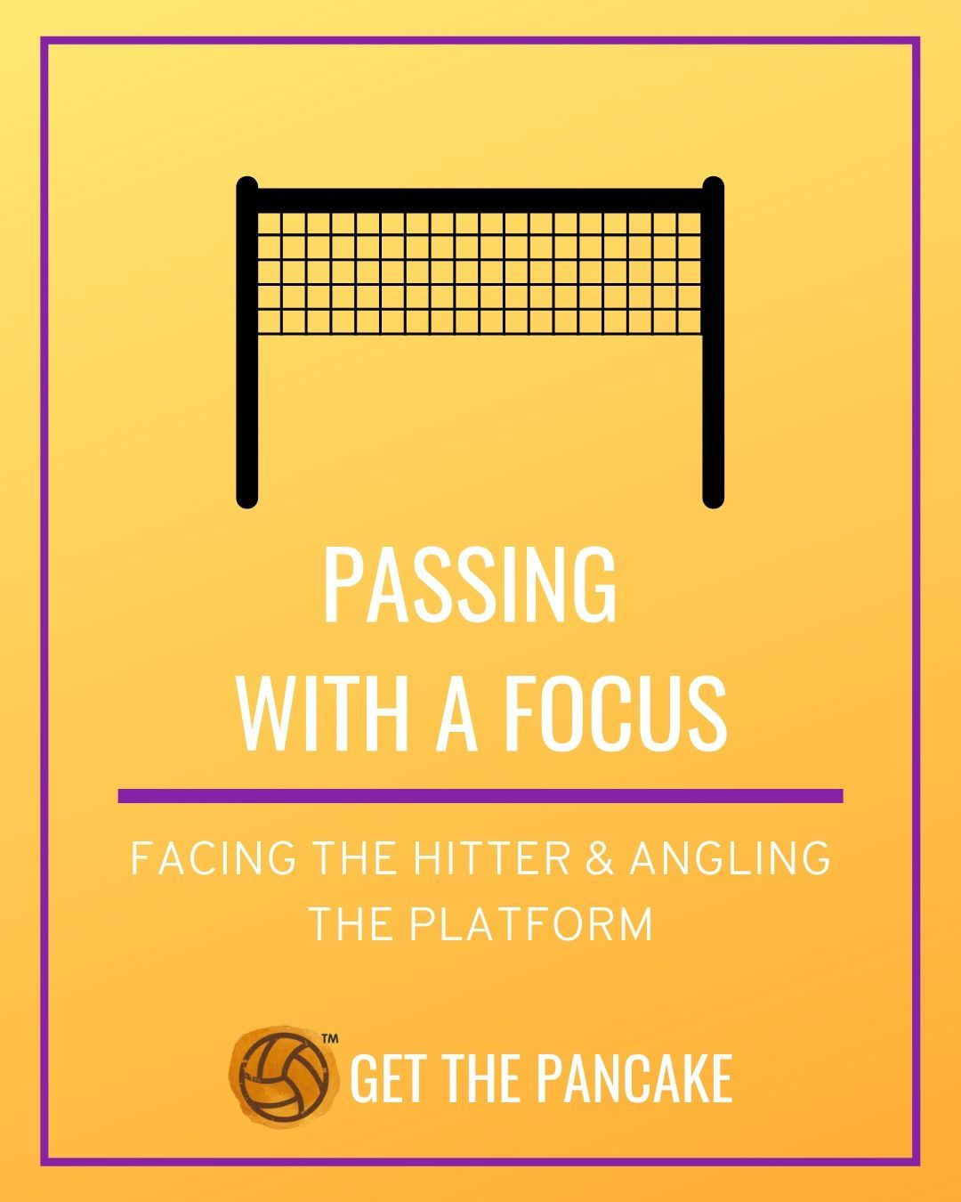 Beginner Volleyball Passing Tips Facing The Hitter With Images Coaching Volleyball Volleyball Quotes Volleyball Drills For Beginners