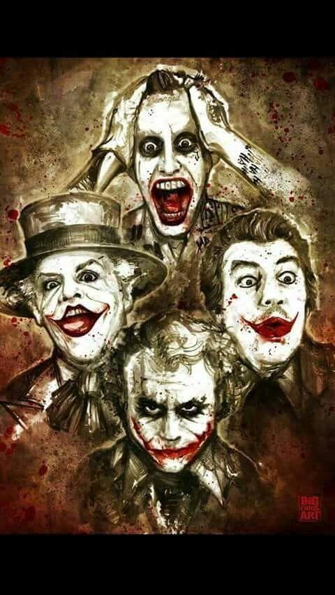 Joker Family Portrait Batman Personagens Iconicos Tag Para