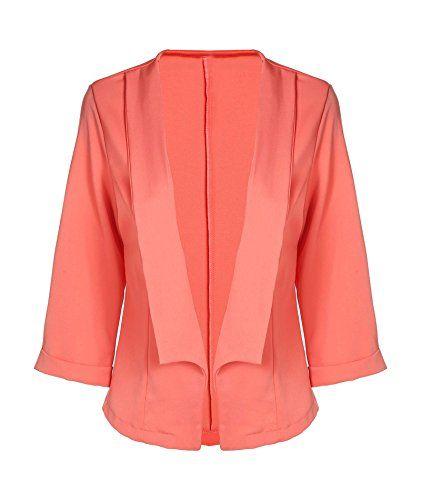 Meaneor Women's Plus Size Fall Winter Form Fitting Boyfriend Blazer Orange XL Meaneor http://www.amazon.com/dp/B011DP1II8/ref=cm_sw_r_pi_dp_Udn2wb1SZ9VZE